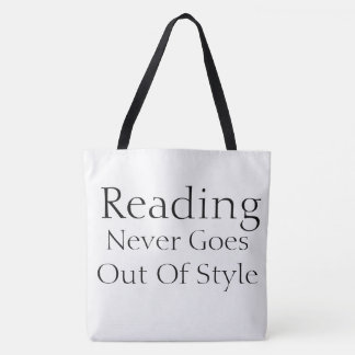 Reading Style Tote