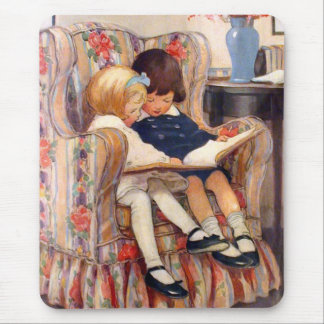 Reading Together Mouse Pads