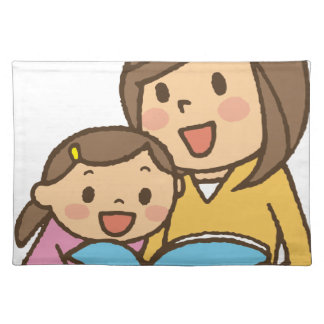 Reading Together Placemat