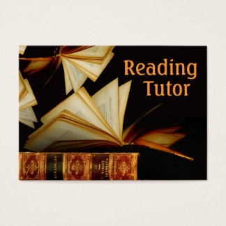Reading Tutor Business Card