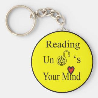 Reading Unlocks Your Mind Key Ring