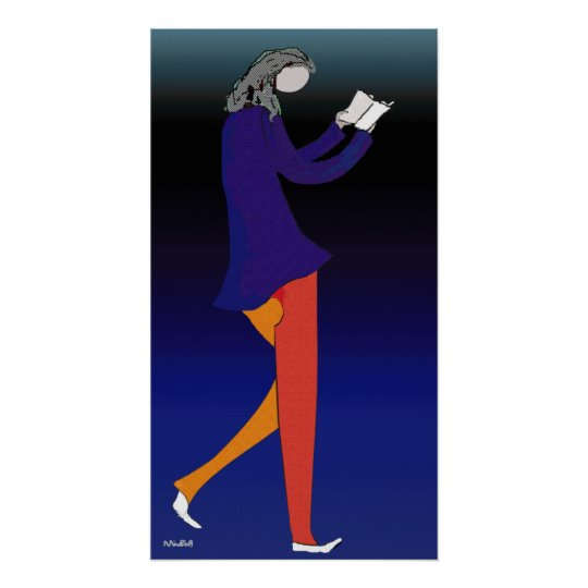 Reading Walker Poster