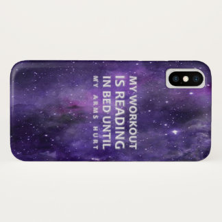 Reading Workout Phone Case