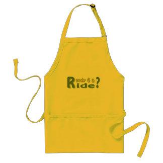 Ready 4 a ride? standard apron