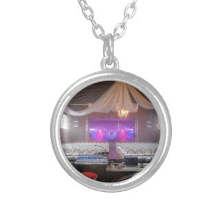Ready for a Concert Silver Plated Necklace