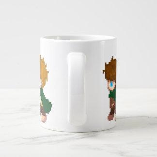 Ready for a walk? large coffee mug