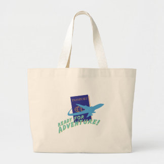 Ready For Adventure Jumbo Tote Bag