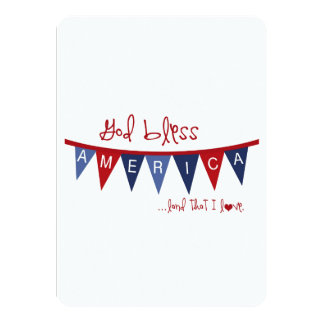 READY FOR ANY SUMMER PATRIOTIC PARTY INVITATION
