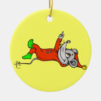 Ready For Bed Mouse Christmas Tree Ornament