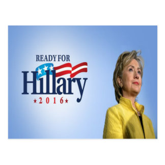 Ready for Hillary 2016 Postcard
