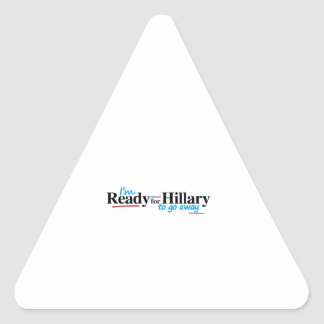Ready for Hillary to go away Stickers