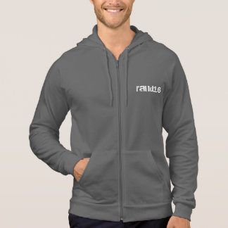 Ready for Rand zipper hoodie