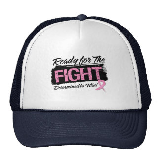 Ready For The Fight Breast Cancer Hat