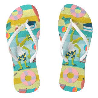 Ready For Unicorn Summer Thongs