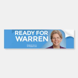 Ready for Warren Bumper Sticker