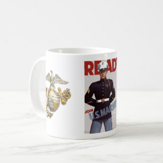 Ready - Join U.S. Marines 11oz Mug