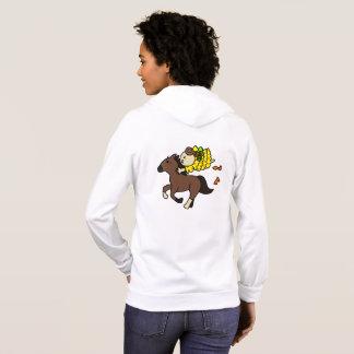 Ready sparker hippopotamus child (before bee bi hoodie