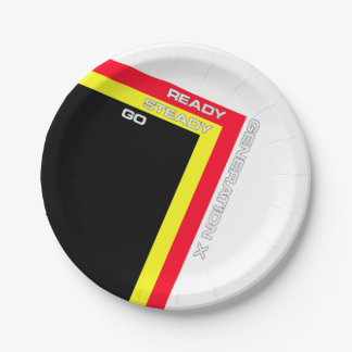 Ready Steady Go Paper Plates 7 Inch Paper Plate