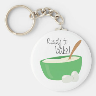 Ready To Bake! Key Ring