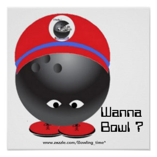Ready to bowl poster
