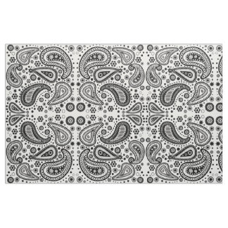 Ready to Color Paisley Patterned Design Fabric
