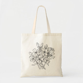 Ready to Color Phlox Tote