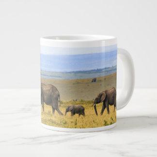 Ready to personalize Elephant landscape Mug