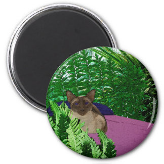 Ready to Relax 6 Cm Round Magnet