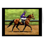 Ready to Run - Horse Painting Greeting Cards