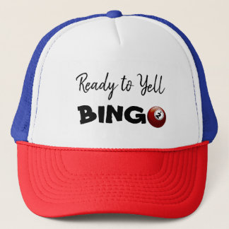 Ready to Yell BINGO Lucky Hat