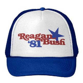 Reagan Bush 1981 Cap