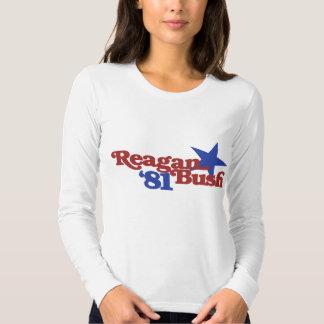 Reagan Bush 1981 T Shirt