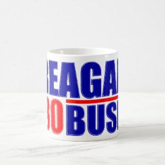 Reagan/Bush '80 Basic White Mug