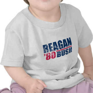 Reagan-Bush 80 T Shirt
