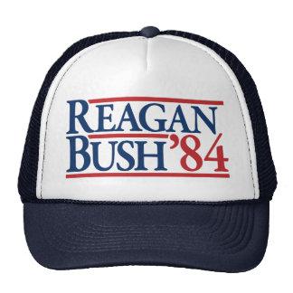 Reagan Bush 84 1984 vintage retro campaign Cap