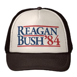 Reagan Bush 84 1984 vintage retro campaign Mesh Hats