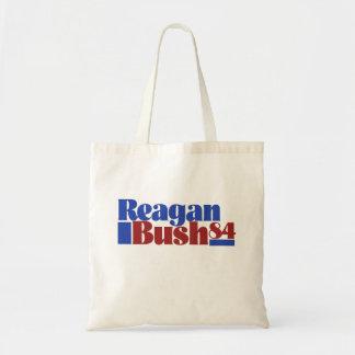 Reagan Bush 84` Tote Bag