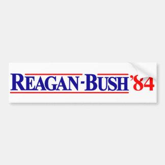Reagan Bush 84 Bumper Sticker