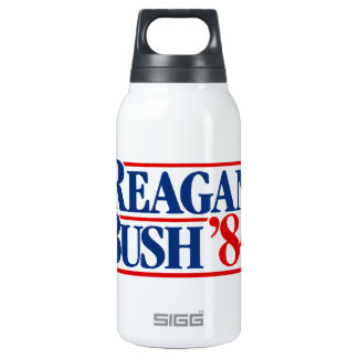 Reagan Bush '84 Campaign 0.3 Litre Insulated SIGG Thermos Water Bottle