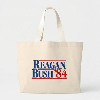 Reagan Bush '84 Campaign Tote Bags