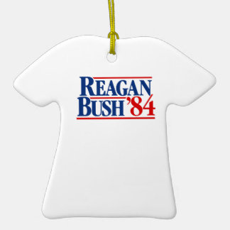 Reagan Bush '84 Campaign Ceramic T-Shirt Decoration