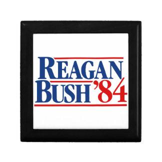 Reagan Bush '84 Campaign Small Square Gift Box