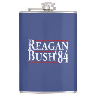 Reagan Bush '84 Flask
