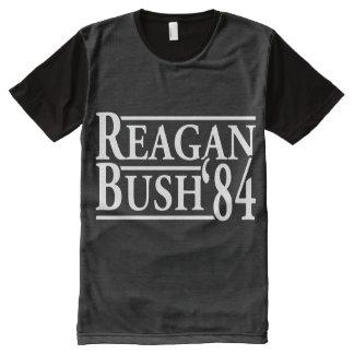 Reagan Bush '84 All-Over Print T-Shirt