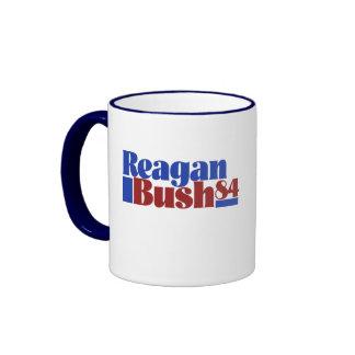 Reagan Bush 84` Mugs