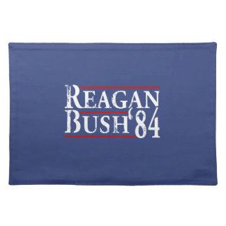 Reagan Bush '84 Placemats
