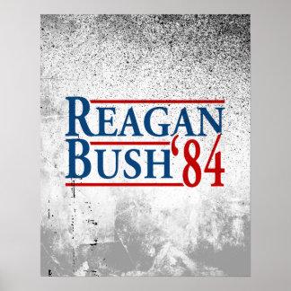 Reagan Bush '84 Poster