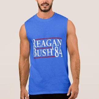 Reagan Bush '84 Sleeveless T-shirt
