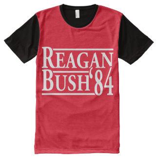 Reagan Bush 84 - white -.png All-Over Print T-Shirt