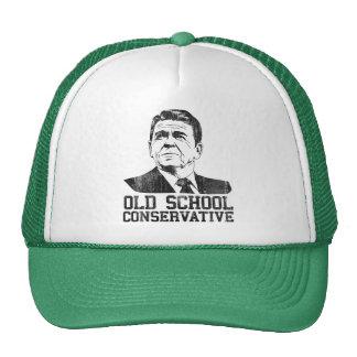 Reagan Bush Old School Conservative vintage tshirt Hats